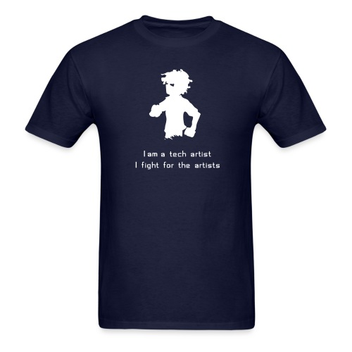 iamatechartist - Men's T-Shirt