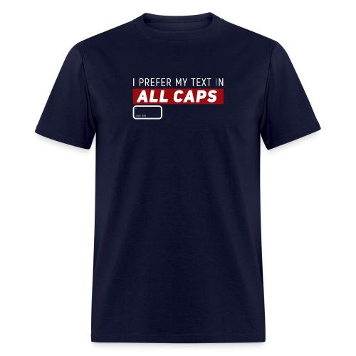All CAPS - Men's T-Shirt