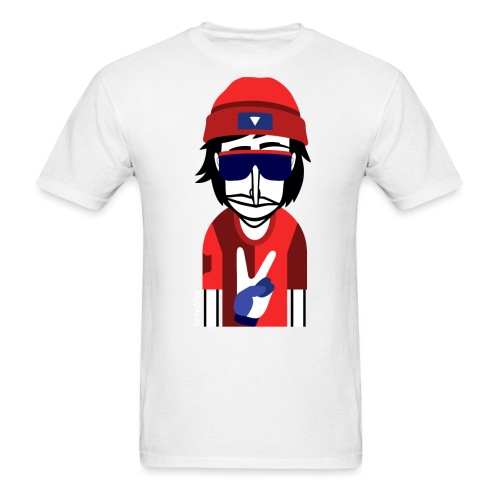 perso-peace-rapper - Men's T-Shirt