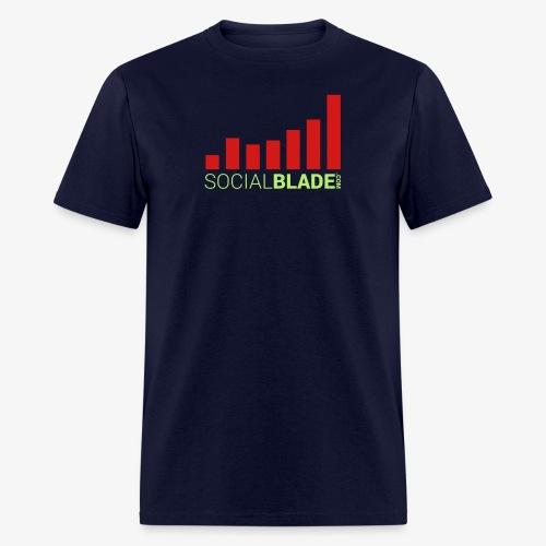 Social Blade - Dark - Men's T-Shirt