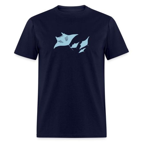 manta ray sting scuba diving diver dive - Men's T-Shirt