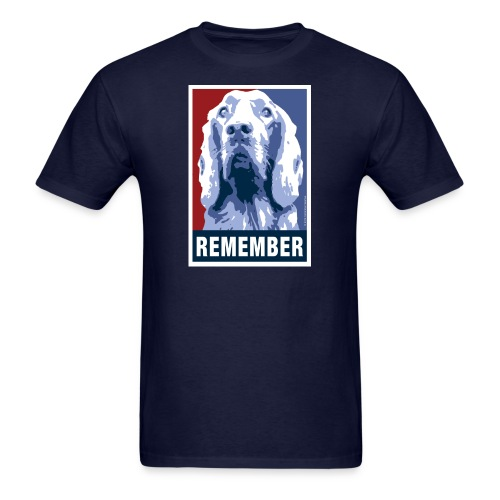 Official DAR Special Edition REMEMBER Blue - Men's T-Shirt
