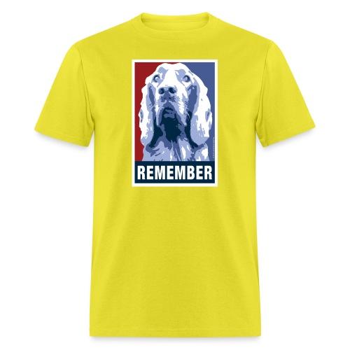 Official DAR Special Edition REMEMBER Blue - Men's T-Shirt