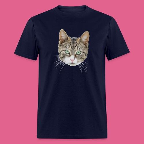 cathead color Edited - Men's T-Shirt