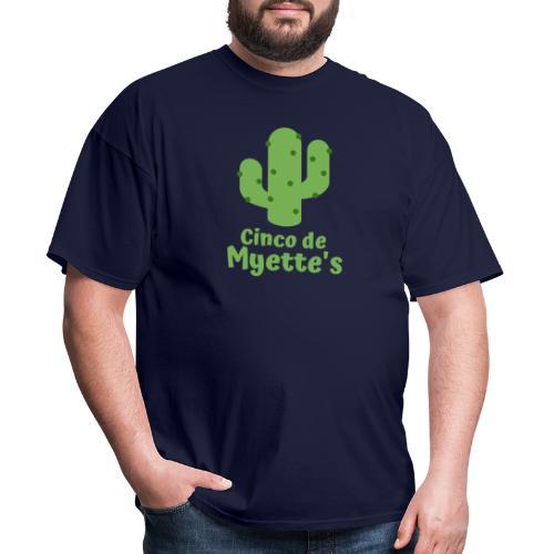 Cinco de Myette's Cactus Design - Men's T-Shirt