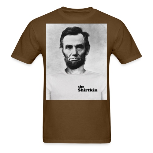 Abraham Lincoln Shirtkin - Men's T-Shirt