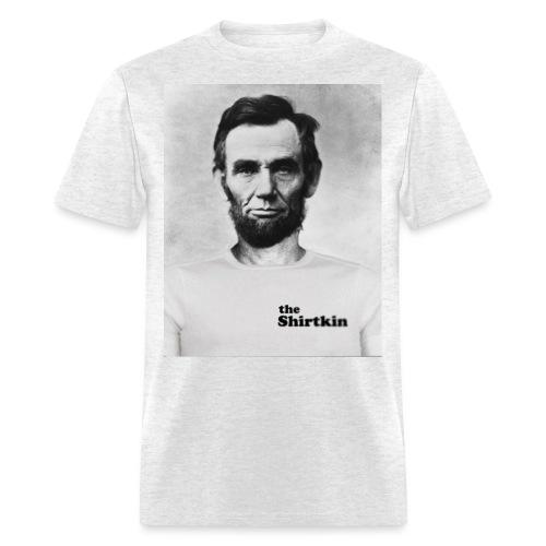 Abraham Lincoln Shirtkin - Men's T-Shirt