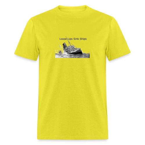Enron Scandal Joke - Men's T-Shirt