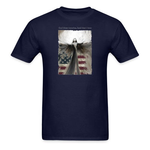 God bless America_design5 - Men's T-Shirt