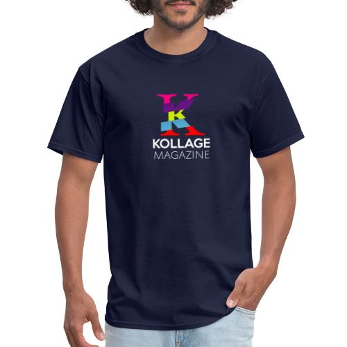 Kollage Magazine LOGO - Men's T-Shirt