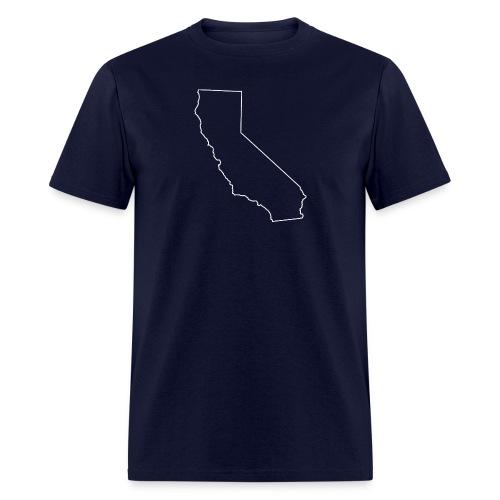 California State Outline - Men's T-Shirt