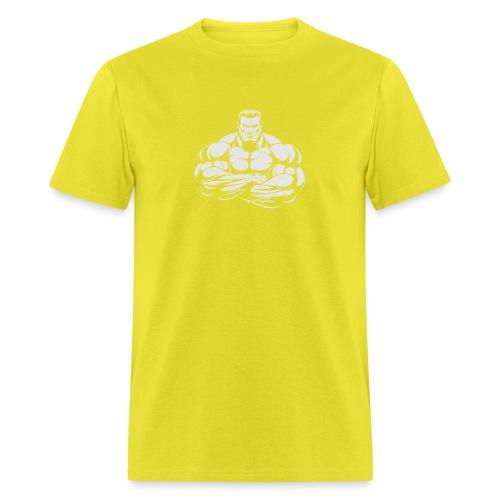 An Angry Bodybuilding Coach - Men's T-Shirt