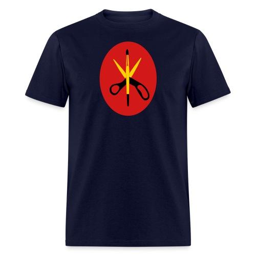 ssisors and brush 3col - Men's T-Shirt