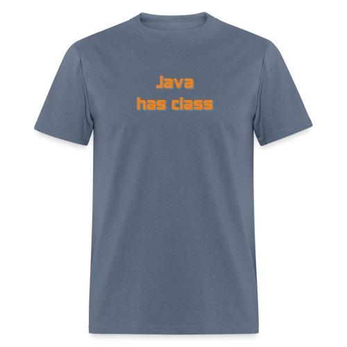 java has class2 - Men's T-Shirt
