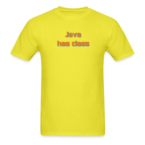 java has class2 - Men's T-Shirt