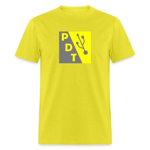 PDT Logo - Men's T-Shirt