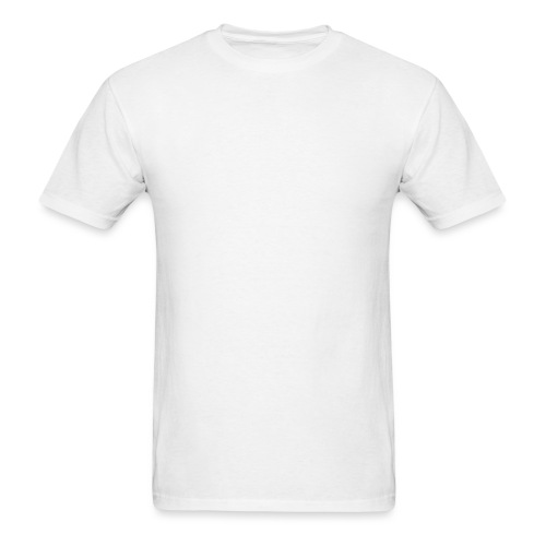Hazey Logo White - Men's T-Shirt