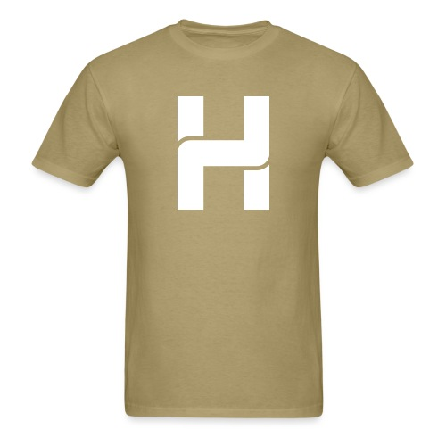 Hazey Logo White - Men's T-Shirt