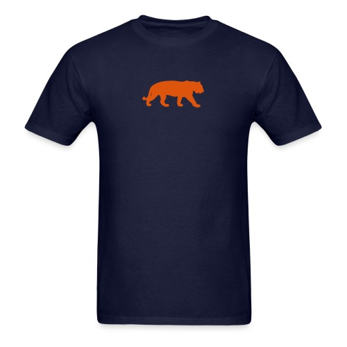 bigtiger orange - Men's T-Shirt