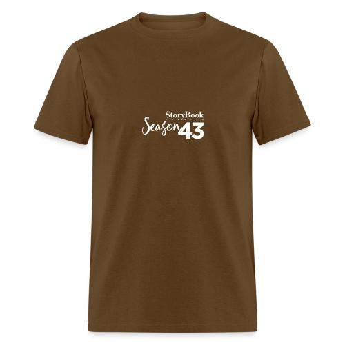 SBT43 Season43 LOGO WHT - Men's T-Shirt