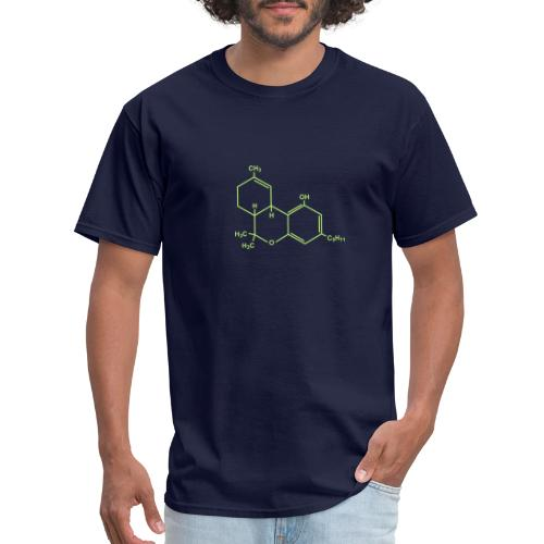 Marijuana (THC) Molecule - Men's T-Shirt