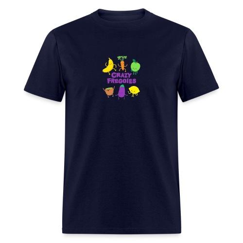 Vegetables a big friends - Men's T-Shirt