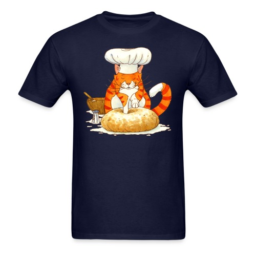 Chef Cat by Rachael B - Men's T-Shirt