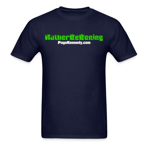 boning 2 blk - Men's T-Shirt