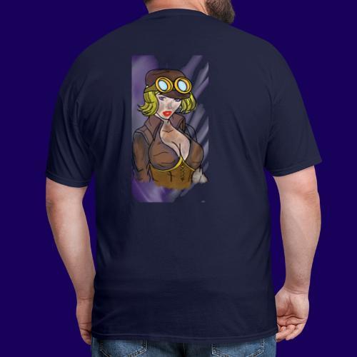 Steampunk girl - Men's T-Shirt