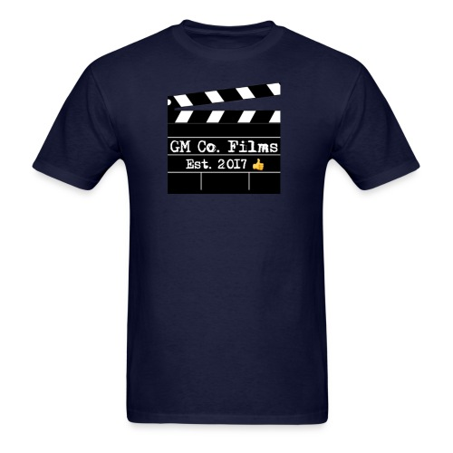 G M co Films logo + Subscribe combo - Men's T-Shirt
