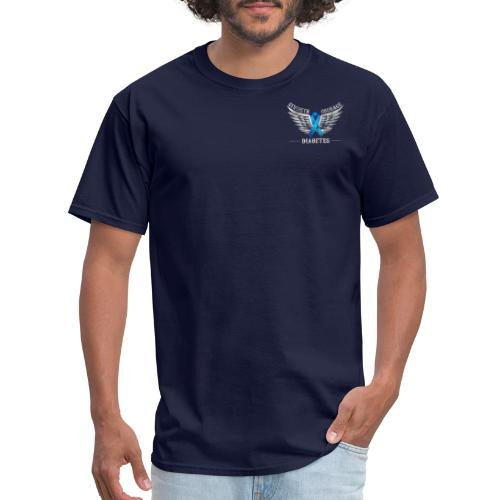 Diabetes - Strength and Courage - Men's T-Shirt