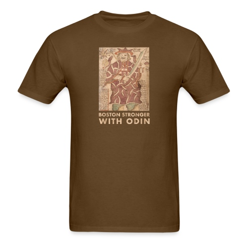 Boston Stronger with Odin - Men's T-Shirt