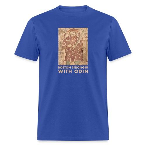 Boston Stronger with Odin - Men's T-Shirt