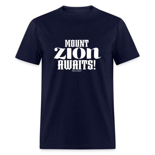 Mount ZION Awaits - Men's T-Shirt