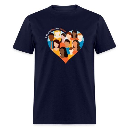 Living Rare, Living Stronger 2021 - Men's T-Shirt