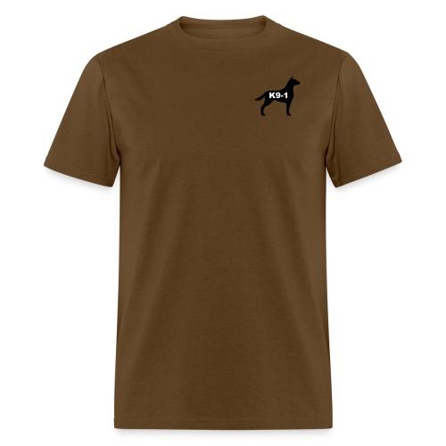 k9-1 Logo Large - Men's T-Shirt