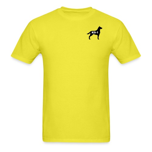 k9-1 Logo Large - Men's T-Shirt