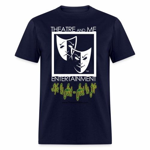For Shirt Logo white 01 - Men's T-Shirt