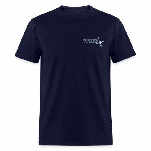 Defenders of the Cross Pocket Logo - Men's T-Shirt