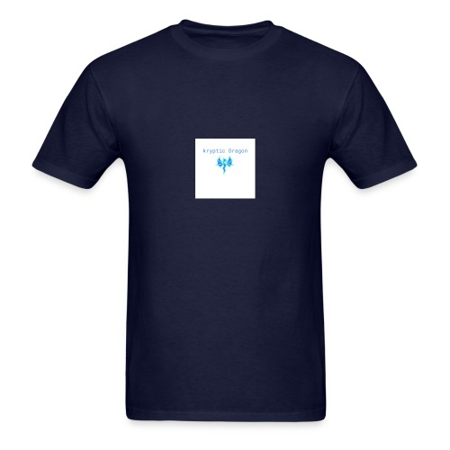 kryptic logo - Men's T-Shirt