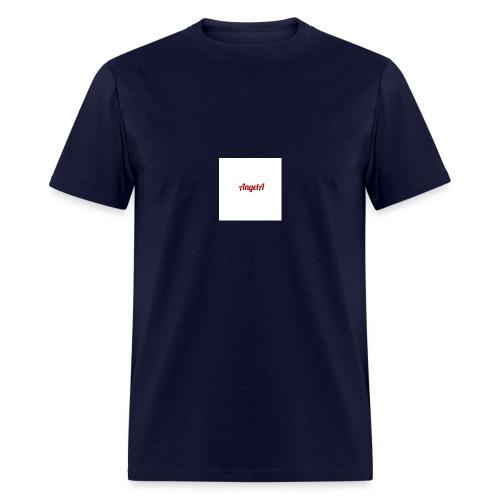 withe A - Men's T-Shirt