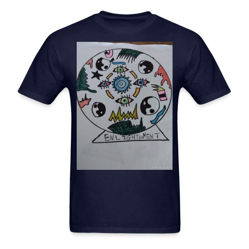 Enlightenment - Men's T-Shirt