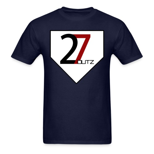 27 Outz - Home Plate - Men's T-Shirt