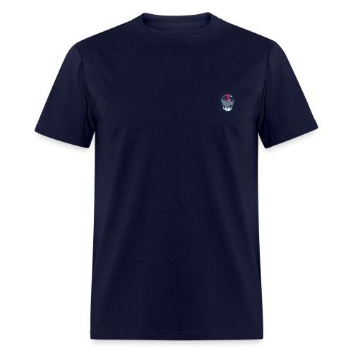 Flower skull - Men's T-Shirt