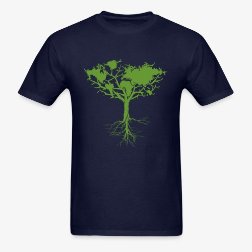 Earth tree - Men's T-Shirt
