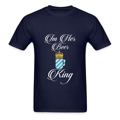 im her king shirt - Men's T-Shirt