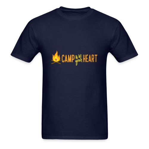 camp is in your heart full color - Men's T-Shirt