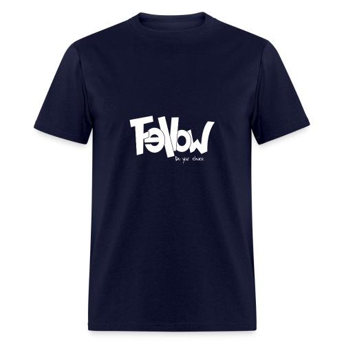 Design 02 Sur du noir - Men's T-Shirt