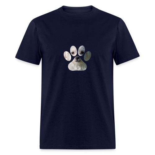 morkie paw t-shirt - Men's T-Shirt