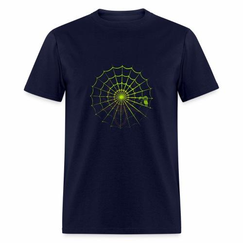 Halloween spider net - Men's T-Shirt